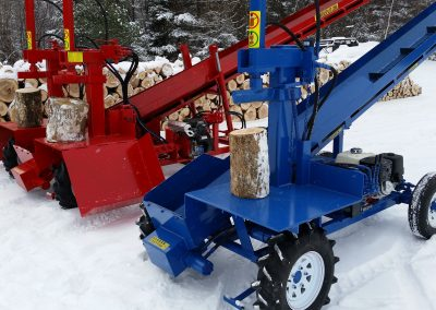 double and single 8 400x284 Overview Gallery, Firewood Splitter, Log Lift