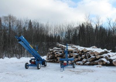 single and static 10 400x284 Overview Gallery, Firewood Splitter, Log Lift