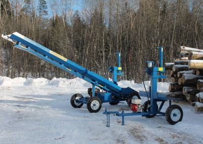 single and static 15 400x284 Overview Gallery, Firewood Splitter, Log Lift