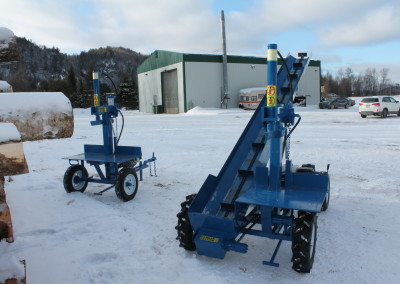 single and static 18 400x284 Overview Gallery, Firewood Splitter, Log Lift