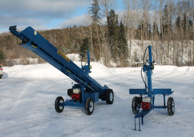 single and static 6 400x284 Overview Gallery, Firewood Splitter, Log Lift