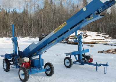 single and static 9 1 400x284 Overview Gallery, Firewood Splitter, Log Lift