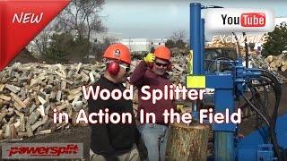 best wood and log splitter maker Wood Splitter Videos, Wood Splitter Reviews, Firewood