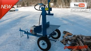 static buggy Wood Splitter Videos, Wood Splitter Reviews, Firewood