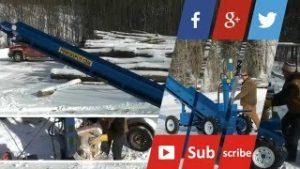 wood splitter review 2 300x169 wood splitter review on our Self Propelled Double Vertical Wood Splitter with Conveyor