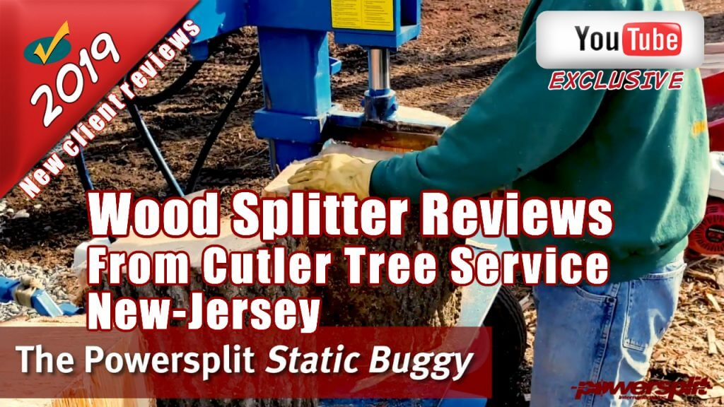 Wood splitter reviews from Cutler Tree Service NJ on the Log Splitter Static Buggy from Powersplit 1 1024x576 Wood Splitter Videos, Wood Splitter Reviews, Firewood
